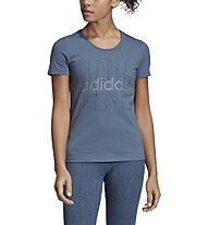 adidas Motion - T-Shirt - Damen, Blue