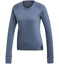 adidas Motion - Sweatshirt - Damen, Blue