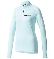 Adidas Terrex Icesky II - Fleecepullover - Damen, Light Blue