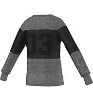 Adidas Wardrobe Style Sweat, Grey Heather/Black