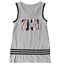 Adidas Wardrobe Style Tank Mädchen, Medium Grey Heather