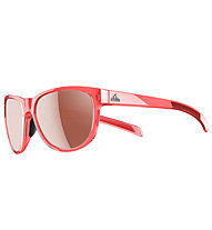 adidas Wildcharge - Sportbrille, Light Red/Grey