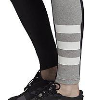 adidas Sport ID Jersey - pantaloni fitness - donna, Black/Grey