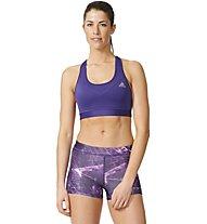 Adidas Workout Techfit Bra - Sport-BH, Violett