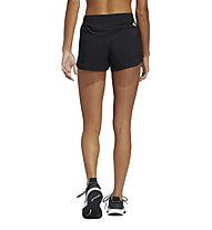 adidas Woven Pacer BoS - pantaloni corti fitness - donna, Black