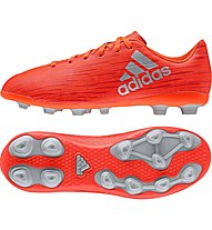 Adidas X 16.4 FxG J Kinder-Fußballschuhe für festen Boden, Red