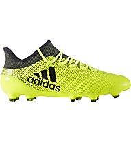 Adidas X 17.1 FG - Fußballschuh für festen Boden, Yellow/Black