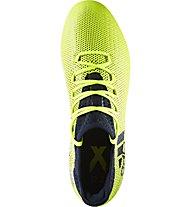 Adidas X 17.2 FG - Fußballschuhe fester Boden, Yellow/Black