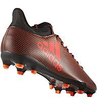 Adidas X 17.3 FG - Fußballschuhe fester Boden, Black