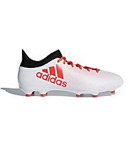 adidas X 17.3 FG - Fußballschuh feste Böden, White/Red