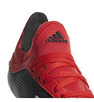 adidas X 18.3 FG Jr. - Fußballschuhe kompakte Rasenplätze - Kinder