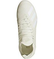 Adidas X 18.3 FG Junior - Fußballschuh Rasenplatz - Kinder, White