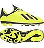 Adidas X 18.4 FG Jr - Fußballschuhe für feste Böden - Kinder, Yellow/Black