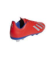 adidas X 18.4 FG Jr - Fußballschuhe für feste Böden - Kinder, Red/Silver/Blue