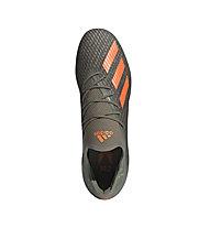 adidas X 19.2 FG - scarpe da calcio terreni compatti - uomo, Green/Orange/White