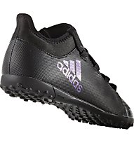 Adidas X Tango 17.3 TF J - Fußballschuh Hartplatz - Kinder, Black