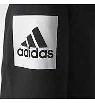 adidas Hojo Suit - tuta da ginnastica - bambino, Black/White
