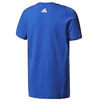 Adidas Linear - T-Shirt - Kinder, Blue