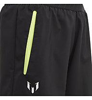 adidas Messi Wo - pantaloni corti fitness - bambino, Black