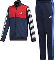 adidas Yb Tibero Ts Ch - tuta sportiva fitness - bambino, Blue