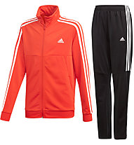 adidas Tiro Tracksuite - Trainingsanzug - Kinder, Red/Black