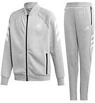adidas Badge Of Sport - tuta sportiva - bambino, Grey
