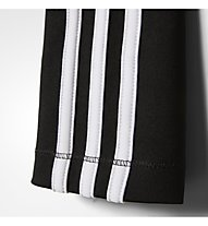 adidas Tight Gear Up 3-Stripes - pantaloni fitness - ragazza, Black/White