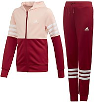 adidas Badge of Sports Track Suit - Trainingsanzug - Kinder, Rose/Red