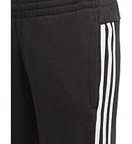 adidas Must Haves 3S - pantaloni fitness - bambino, Black