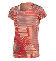 adidas YG TR Cool - T-Shirt fitness - bambino, Orange