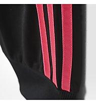 Adidas Wardrobe pantaloni da ginnastica ragazza, Black/Pink
