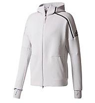 Adidas Z.N.E. Hoodie 2 Pulse - Kapuzenjacke - Herren, Grey