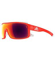 adidas Zonyk Pro Small - occhiali sportivi, Solar Red-Red Mirror
