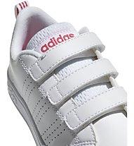 adidas Advantage Clean CMF C - sneaker - bambina, White