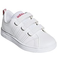adidas Advantage Clean CMF C - Sneaker - Kinder, White