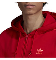 adidas Originals 3-Stripes FZ - Kapuzenjacke - Herren, Red