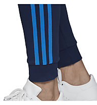 adidas Originals 3-Stripes - pantaloni fitness - uomo, Dark Blue/Light Blue