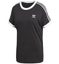adidas Originals 3 Stripes Tee - T-Shirt - Damen, Black