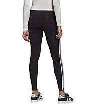 adidas Originals 3 Stripes Tight - Trainingshose - Damen, Black