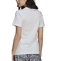 adidas Originals T-Shirt All Over Print - T-Shirt - Damen, White
