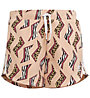 adidas Originals All Over Print - pantaloni fitness corti - bambine, Pink
