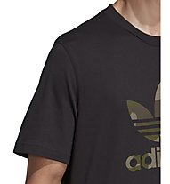 adidas Originals Camo Infill Tee - Fitness T-Shirt - Herren, Black