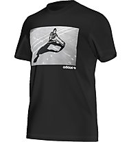 Adidas Originals Girl Tee Herren T-Shirt Fitness kurzarm, Black