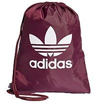 adidas Originals Trefoil - sacca ginnica, Dark Red