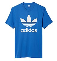 Adidas Originals Originals Trefoil - Herren T-Shirt, Light Blue