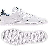 adidas Originals Stan Smith J - Sneakers - Damen, White/Blue