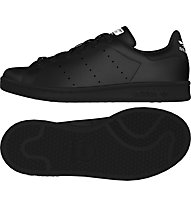 Adidas Originals Stan Smith - scarpa ginnastica - bambino, Black