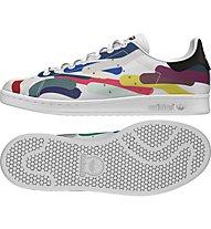 Adidas Originals Stan Smith Pharrel - scarpa ginnastica, White/White/Core Black