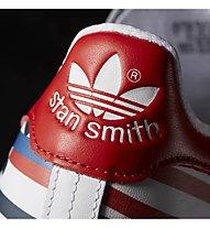Adidas Originals Stan Smith Pharrel Sneaker, White/White/Red
