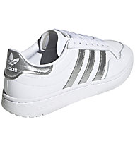 adidas Originals Team Court - Sneakers - Damen, White/Grey